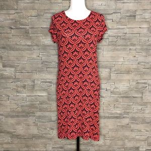 Hatley red and black dress